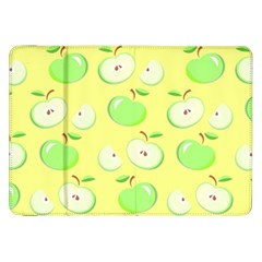 Apples Apple Pattern Vector Green Samsung Galaxy Tab 8 9  P7300 Flip Case