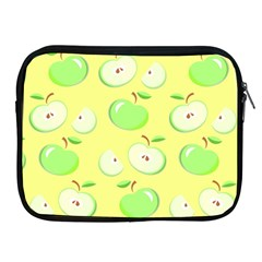 Apples Apple Pattern Vector Green Apple Ipad 2/3/4 Zipper Cases