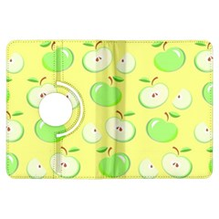 Apples Apple Pattern Vector Green Kindle Fire Hdx Flip 360 Case