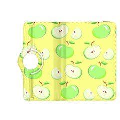 Apples Apple Pattern Vector Green Kindle Fire HDX 8.9  Flip 360 Case