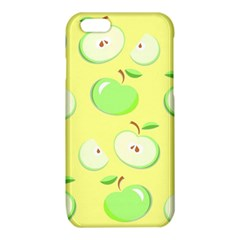Apples Apple Pattern Vector Green iPhone 6/6S TPU Case