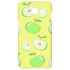 Apples Apple Pattern Vector Green Samsung C9 Pro Hardshell Case