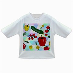 Vegetables Cucumber Tomato Infant/Toddler T-Shirts