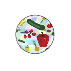 Vegetables Cucumber Tomato Hat Clip Ball Marker