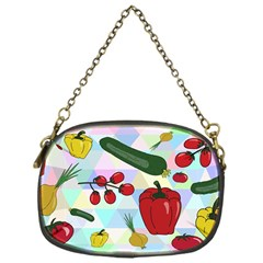 Vegetables Cucumber Tomato Chain Purses (One Side)