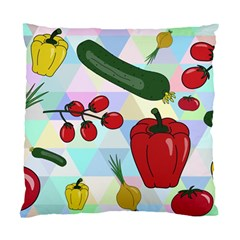 Vegetables Cucumber Tomato Standard Cushion Case (two Sides)