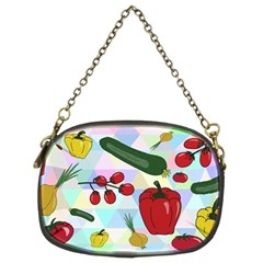 Vegetables Cucumber Tomato Chain Purses (two Sides)