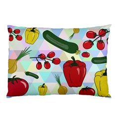 Vegetables Cucumber Tomato Pillow Case
