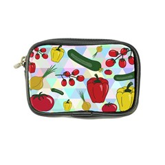 Vegetables Cucumber Tomato Coin Purse