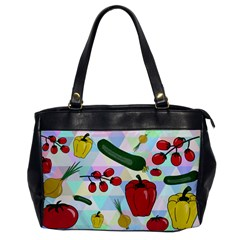 Vegetables Cucumber Tomato Office Handbags