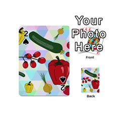 Vegetables Cucumber Tomato Playing Cards 54 (Mini)