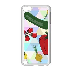 Vegetables Cucumber Tomato Apple iPod Touch 5 Case (White)