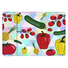 Vegetables Cucumber Tomato Samsung Galaxy Tab 8.9  P7300 Flip Case