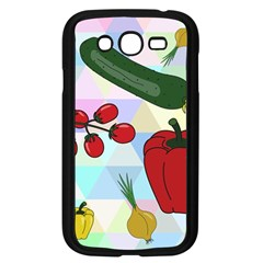 Vegetables Cucumber Tomato Samsung Galaxy Grand DUOS I9082 Case (Black)