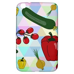 Vegetables Cucumber Tomato Samsung Galaxy Tab 3 (8 ) T3100 Hardshell Case
