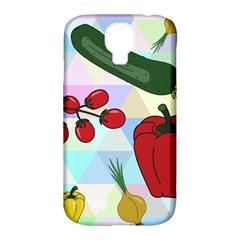 Vegetables Cucumber Tomato Samsung Galaxy S4 Classic Hardshell Case (pc+silicone)