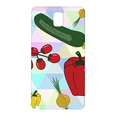 Vegetables Cucumber Tomato Samsung Galaxy Note 3 N9005 Hardshell Back Case