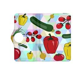 Vegetables Cucumber Tomato Kindle Fire Hdx 8 9  Flip 360 Case