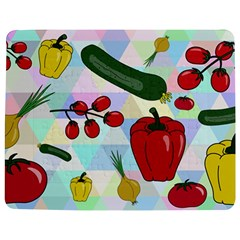 Vegetables Cucumber Tomato Jigsaw Puzzle Photo Stand (rectangular)