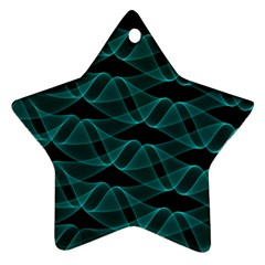 Pattern Vector Design Star Ornament (two Sides)