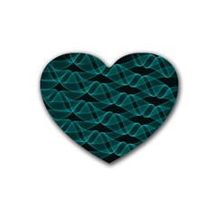 Pattern Vector Design Heart Coaster (4 pack)