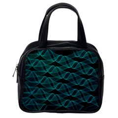Pattern Vector Design Classic Handbags (one Side)