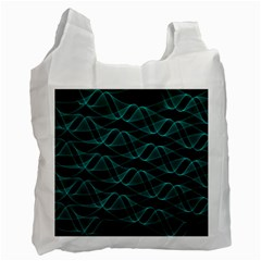 Pattern Vector Design Recycle Bag (One Side)