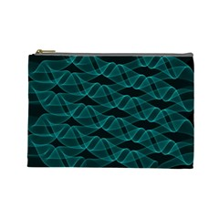 Pattern Vector Design Cosmetic Bag (large)