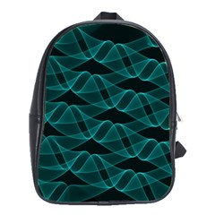 Pattern Vector Design School Bags(Large)