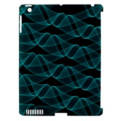 Pattern Vector Design Apple iPad 3/4 Hardshell Case (Compatible with Smart Cover)