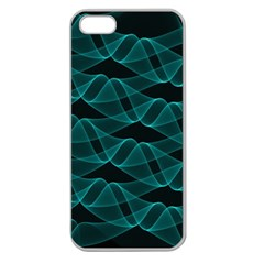 Pattern Vector Design Apple Seamless iPhone 5 Case (Clear)