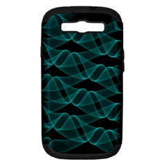 Pattern Vector Design Samsung Galaxy S Iii Hardshell Case (pc+silicone)