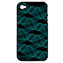 Pattern Vector Design Apple Iphone 4/4s Hardshell Case (pc+silicone)