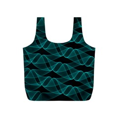 Pattern Vector Design Full Print Recycle Bags (s)