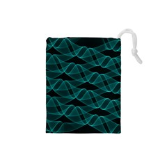 Pattern Vector Design Drawstring Pouches (Small)
