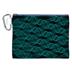 Pattern Vector Design Canvas Cosmetic Bag (XXL)