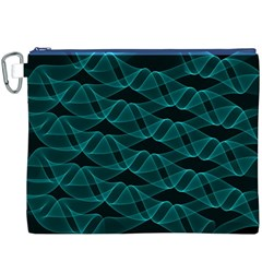 Pattern Vector Design Canvas Cosmetic Bag (XXXL)