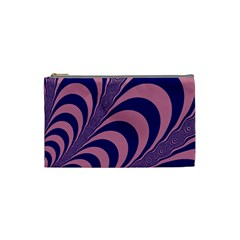 Fractals Vector Background Cosmetic Bag (Small)