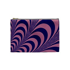 Fractals Vector Background Cosmetic Bag (medium)