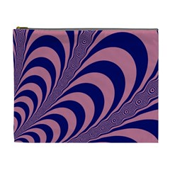 Fractals Vector Background Cosmetic Bag (xl)