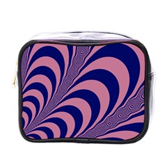 Fractals Vector Background Mini Toiletries Bags