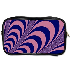 Fractals Vector Background Toiletries Bags 2 Side