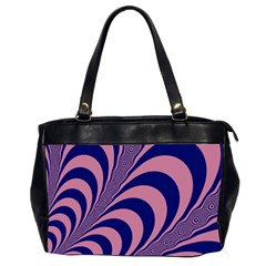 Fractals Vector Background Office Handbags (2 Sides)