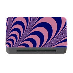 Fractals Vector Background Memory Card Reader With Cf