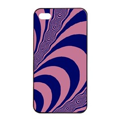 Fractals Vector Background Apple Iphone 4/4s Seamless Case (black)