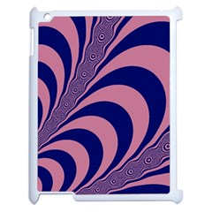 Fractals Vector Background Apple iPad 2 Case (White)