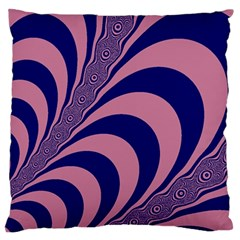 Fractals Vector Background Large Cushion Case (one Side)