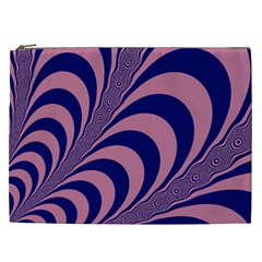 Fractals Vector Background Cosmetic Bag (XXL)