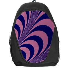 Fractals Vector Background Backpack Bag
