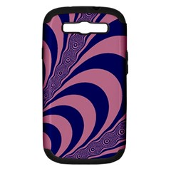 Fractals Vector Background Samsung Galaxy S Iii Hardshell Case (pc+silicone)